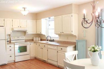 Impressive kitchens with white appliances 34
