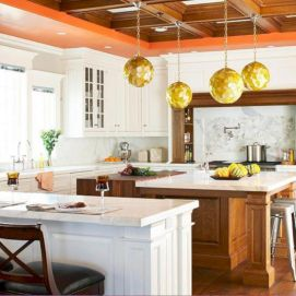 Impressive kitchens with white appliances 36