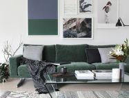 Inspiring minimalist sofa design ideas 34