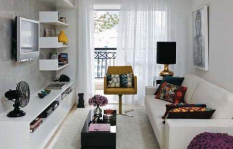 Inspiring small living room apartment ideas 24