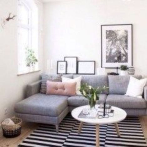Inspiring small living room apartment ideas 32