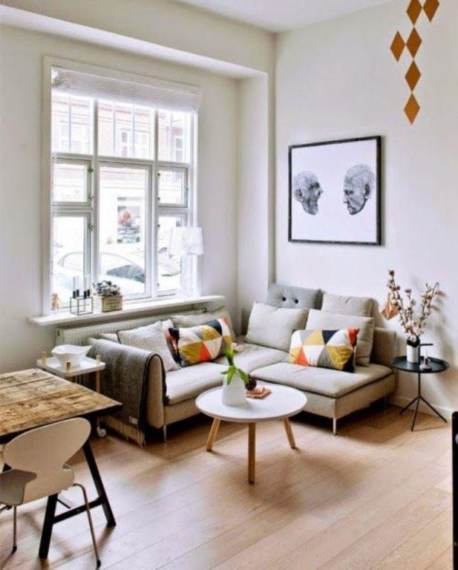 Inspiring small living room apartment ideas 34