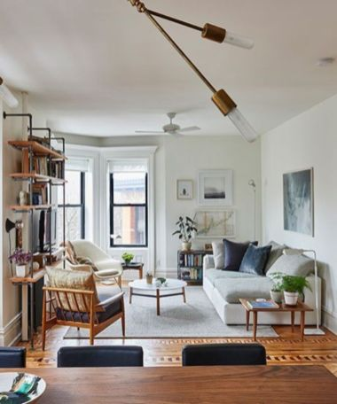 Inspiring small living room apartment ideas 40