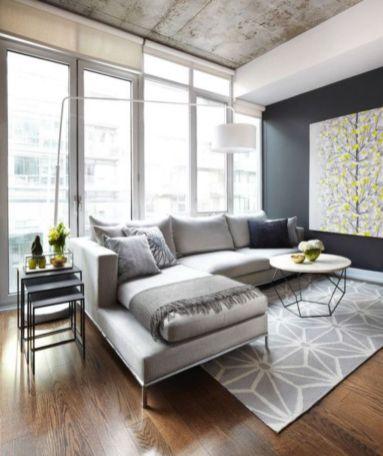 Inspiring small living room apartment ideas 42