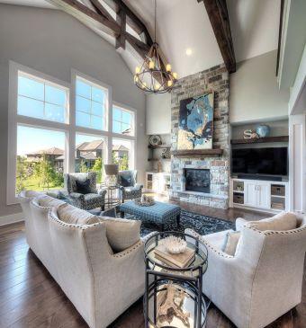 Lovely rustic coastal living room design ideas 31