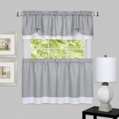 Most popular grey and white kitchen curtains ideas 04