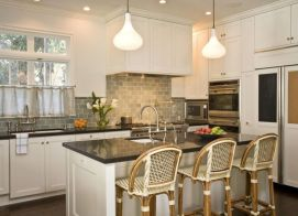 Most popular grey and white kitchen curtains ideas 16