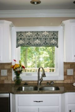 Most popular grey and white kitchen curtains ideas 29