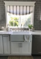 Most popular grey and white kitchen curtains ideas 36