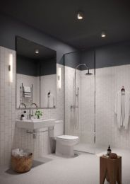 Most popular mid century modern bathroom lighting 02