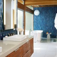 Most popular mid century modern bathroom lighting 14