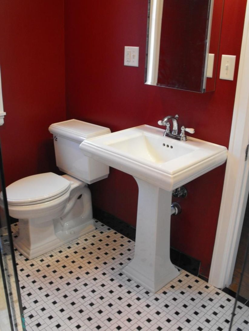 Most Popular Red Black And White Bathroom Decor Ideas 28 Roundecor