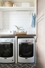 Outstanding black and white laundry room ideas 24