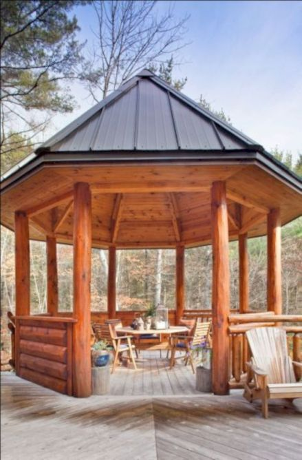 Relaxing gazebo design ideas you can copy 13