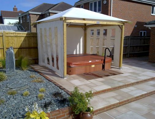 Relaxing gazebo design ideas you can copy 31