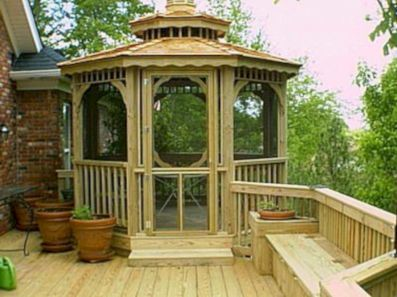 Relaxing gazebo design ideas you can copy 35