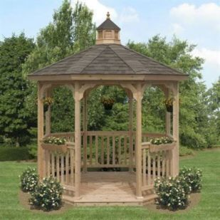 Relaxing gazebo design ideas you can copy 37