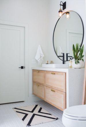 Stunning bathroom mirror decor ideas 13