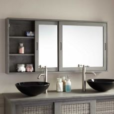 Stunning bathroom mirror decor ideas 27
