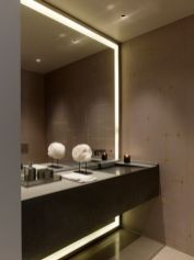 Stunning bathroom mirror decor ideas 40