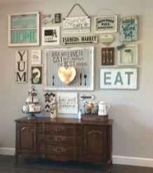 Stunning living room wall gallery design ideas 11