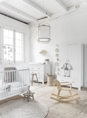 Stylish baby room design and decor ideas 27