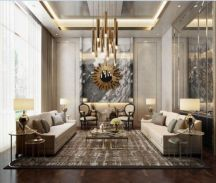 Stylish gold living room design ideas you will love 07