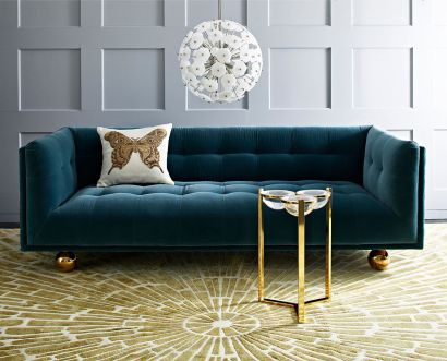 Stylish gold living room design ideas you will love 11