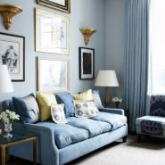 Stylish gold living room design ideas you will love 44