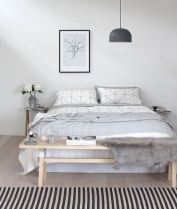 Totally inspiring scandinavian bedroom interior design ideas 14