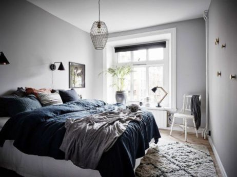 Totally inspiring scandinavian bedroom interior design ideas 16