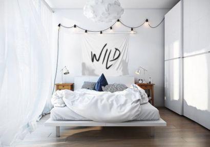 Totally inspiring scandinavian bedroom interior design ideas 43