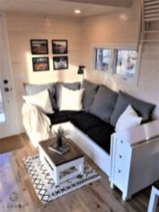 Unusual tiny living room design ideas for tiny house 03
