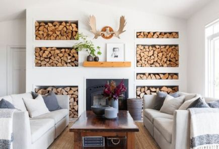 Unusual tiny living room design ideas for tiny house 12