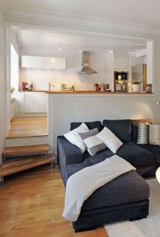 Unusual tiny living room design ideas for tiny house 50