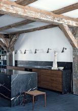 Amazing black kitchen design ideas 08