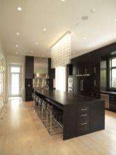 Amazing black kitchen design ideas 23