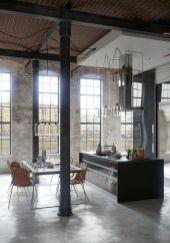 Amazing black kitchen design ideas 32