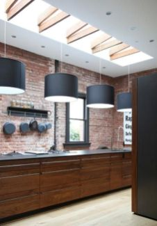 Amazing black kitchen design ideas 39