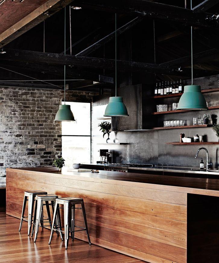 Amazing black kitchen design ideas 44