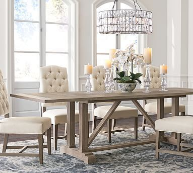 Amazing dinning room ideas with natural farmhouse style 07