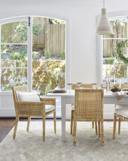 Amazing dinning room ideas with natural farmhouse style 08