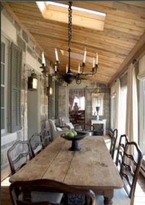 Amazing dinning room ideas with natural farmhouse style 26