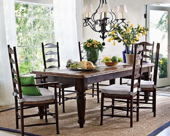 Amazing dinning room ideas with natural farmhouse style 31