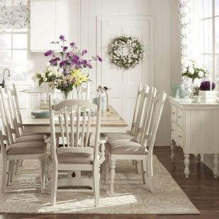 Amazing dinning room ideas with natural farmhouse style 38
