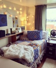 Beautiful dorm room organization ideas 10