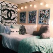 Beautiful dorm room organization ideas 13