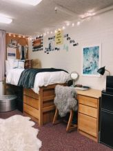 Beautiful dorm room organization ideas 29