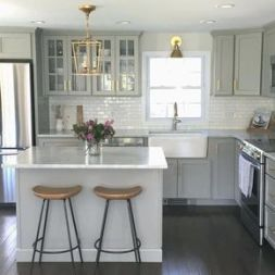 Creative kitchen cabinets makeover ideas 13