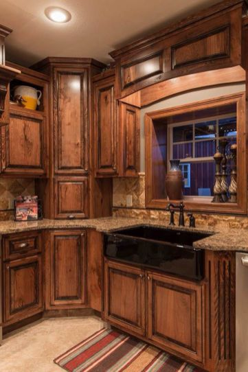 Creative kitchen cabinets makeover ideas 17